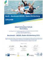 Urkunde-BoriS-Berufswahl-Siegel-BW